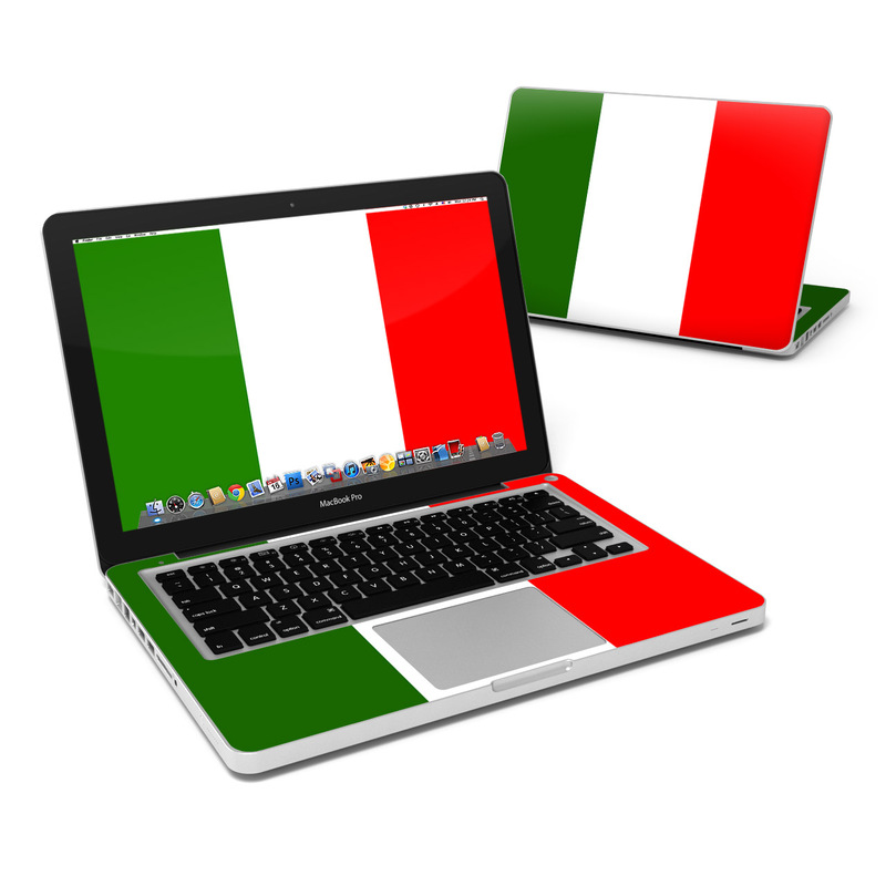 Italian Flag MacBook Pro 13-inch Skin