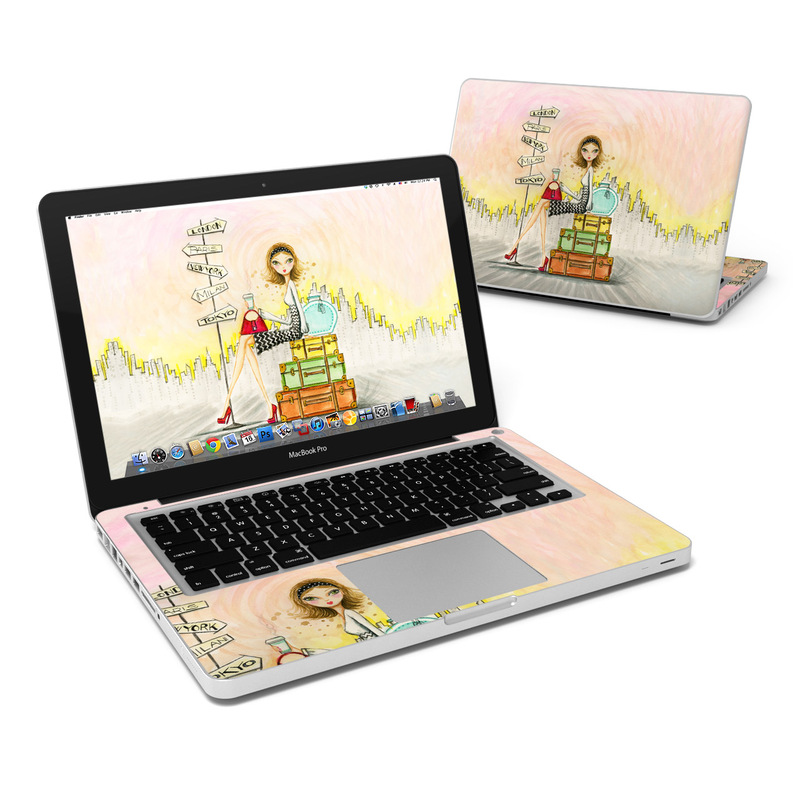 The Jet Setter MacBook Pro 13-inch Skin