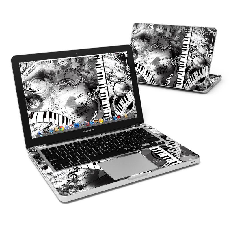 Piano Pizazz MacBook Pro 13-inch Skin