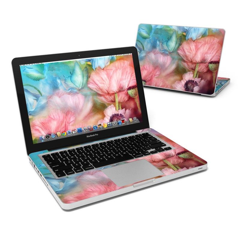 Poppy Garden MacBook Pro 13-inch Skin