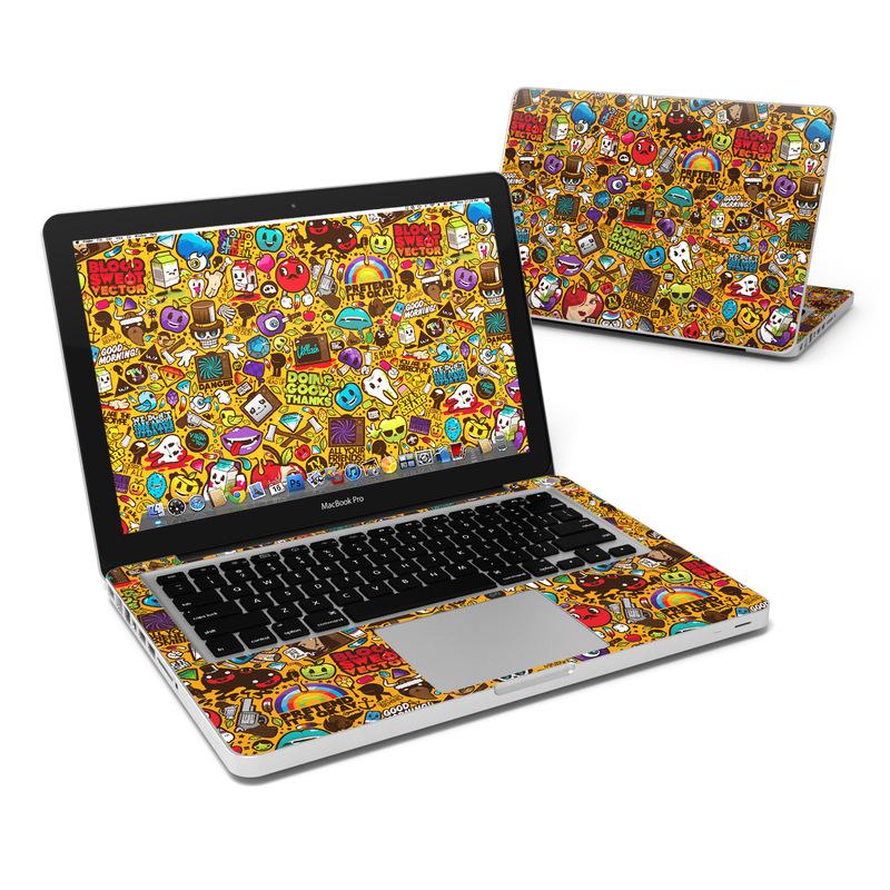 Psychedelic MacBook Pro 13-inch Skin