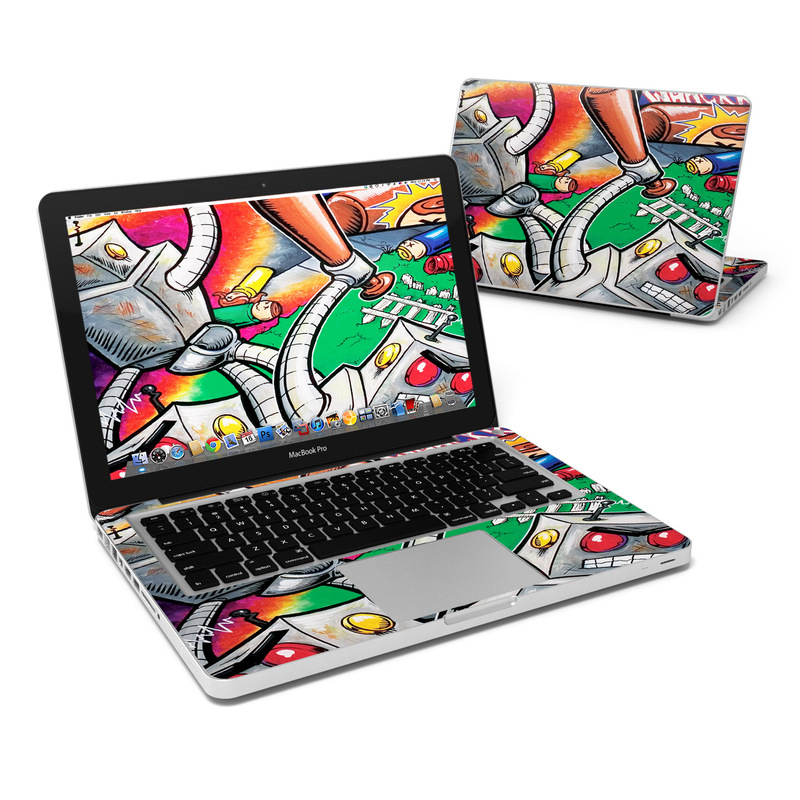 Robot Beatdown MacBook Pro Pre 2012 13-inch Skin