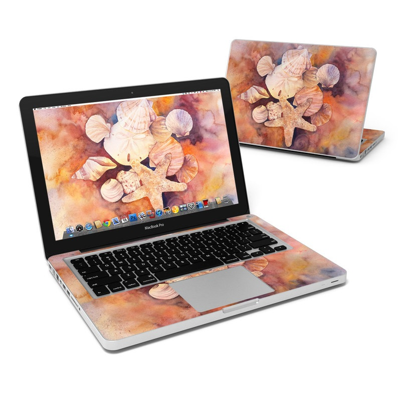 Sea Shells MacBook Pro Pre 2012 13-inch Skin