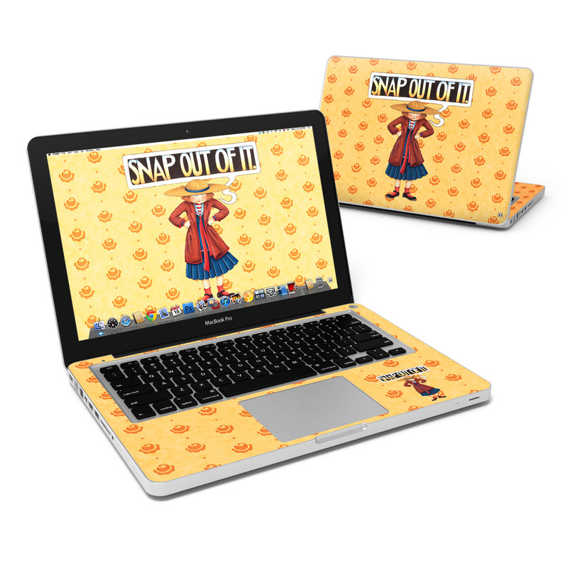 Snap Out Of It MacBook Pro 13-inch Skin