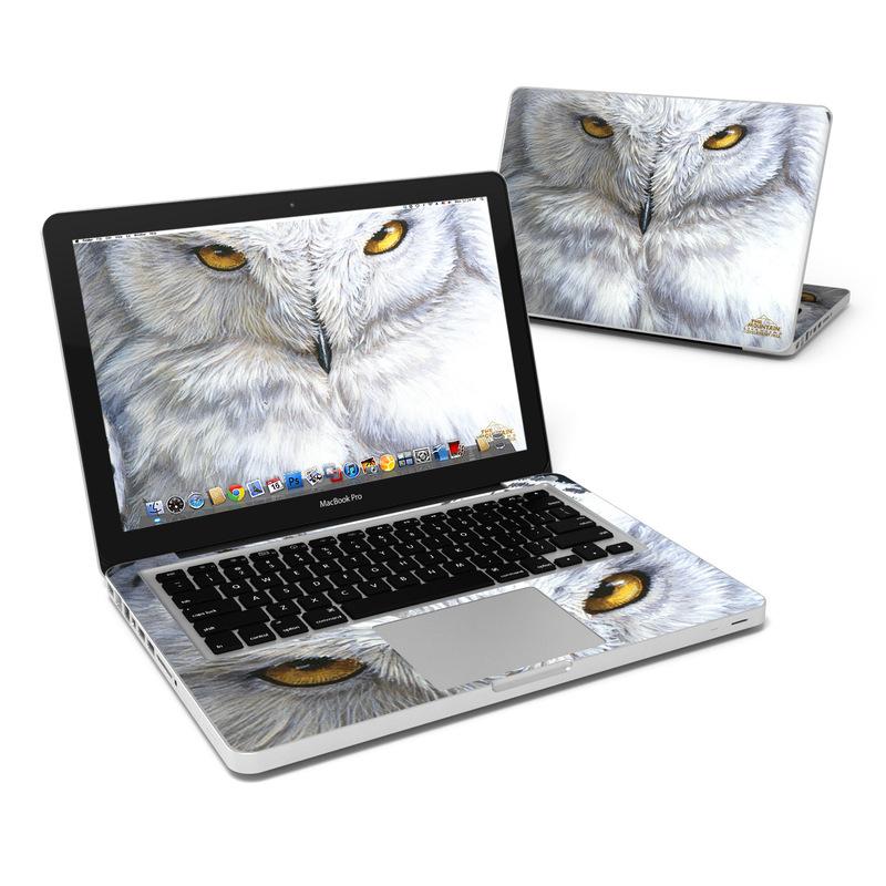 Snowy Owl MacBook Pro 13-inch Skin