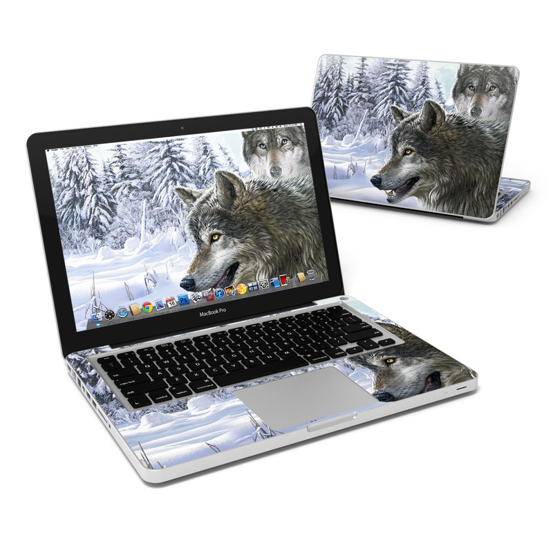 Snow Wolves MacBook Pro 13-inch Skin