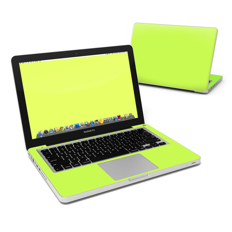 Solid State Lime MacBook Pro 13-inch Skin