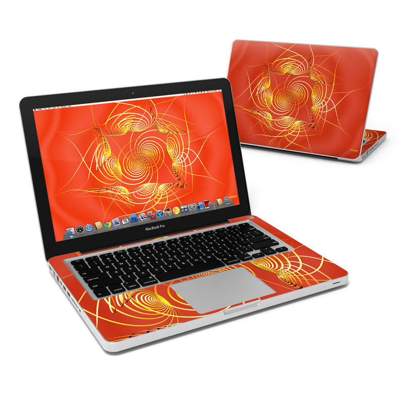 Spiral Stellations MacBook Pro 13-inch Skin