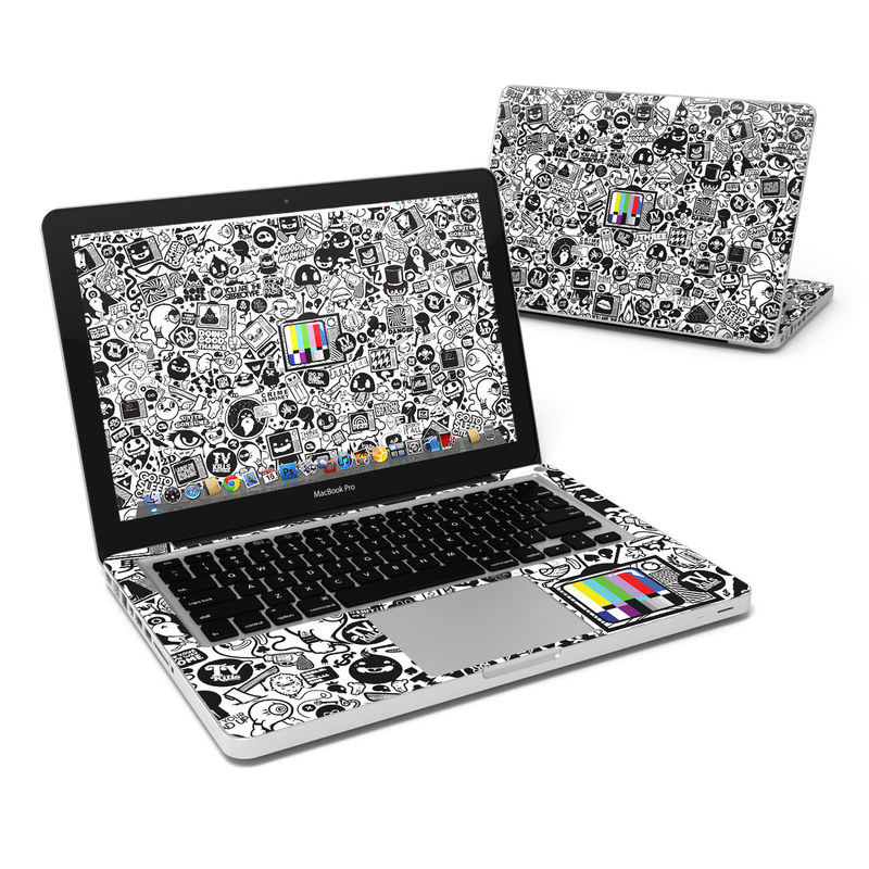 TV Kills Everything MacBook Pro Pre 2012 13-inch Skin
