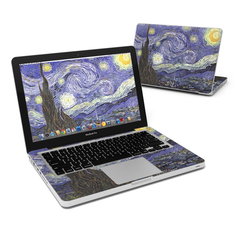 Starry Night MacBook Pro Pre 2012 13-inch Skin