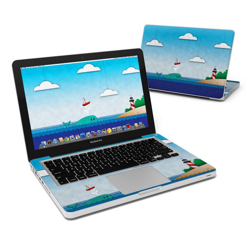 Whale Sail MacBook Pro 13-inch Skin