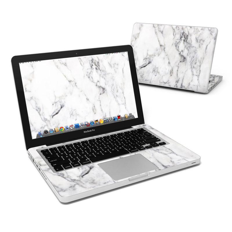 White Marble MacBook Pro 13-inch Skin