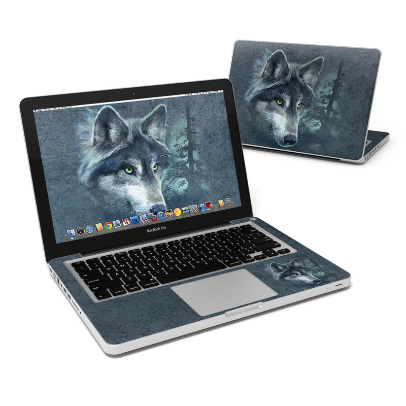 Wolf Reflection MacBook Pro 13-inch Skin