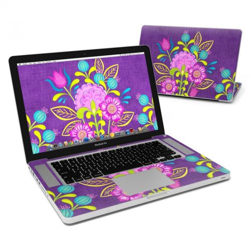 Floral Bouquet MacBook Pro 15-inch Skin