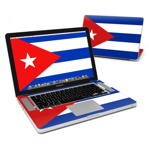 Cuban Flag MacBook Pro 15-inch Skin