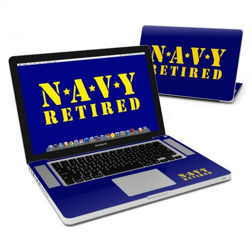 Navy Retired MacBook Pro 15-inch Skin