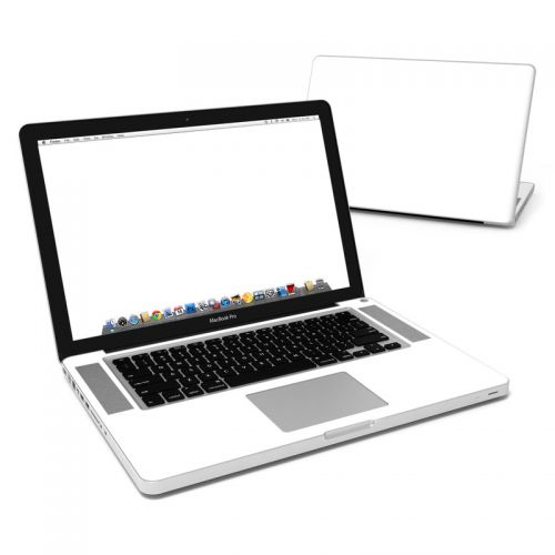 Solid State White MacBook Pro Pre 2012 15-inch Skin