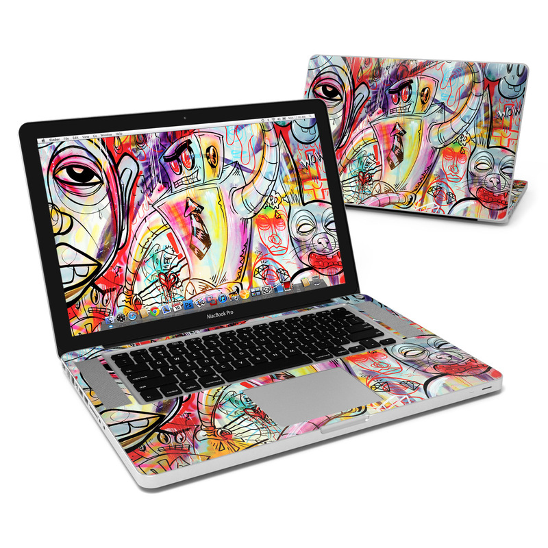 Battery Acid Meltdown MacBook Pro 15-inch Skin