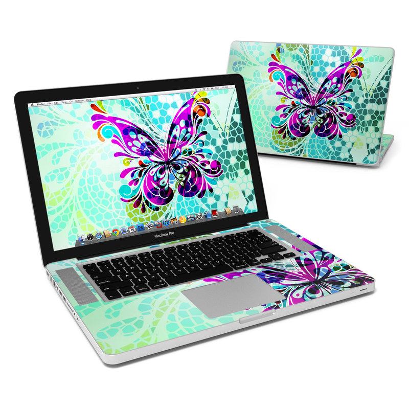 Butterfly Glass MacBook Pro 15-inch Skin