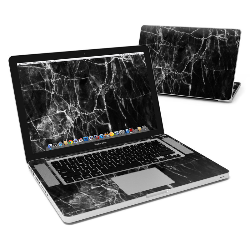 Black Marble MacBook Pro Pre 2012 15-inch Skin