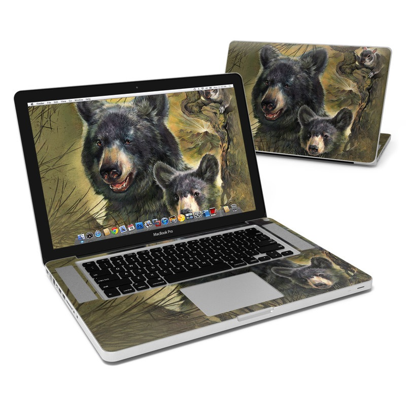 Black Bears MacBook Pro 15-inch Skin