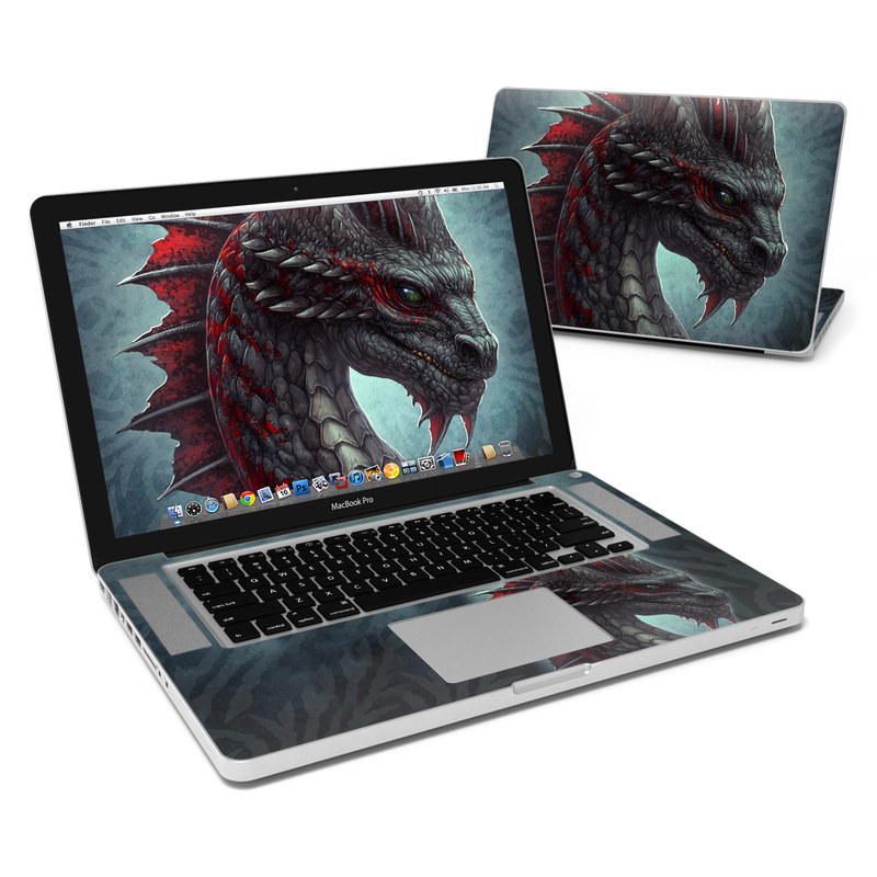 Black Dragon MacBook Pro 15-inch Skin