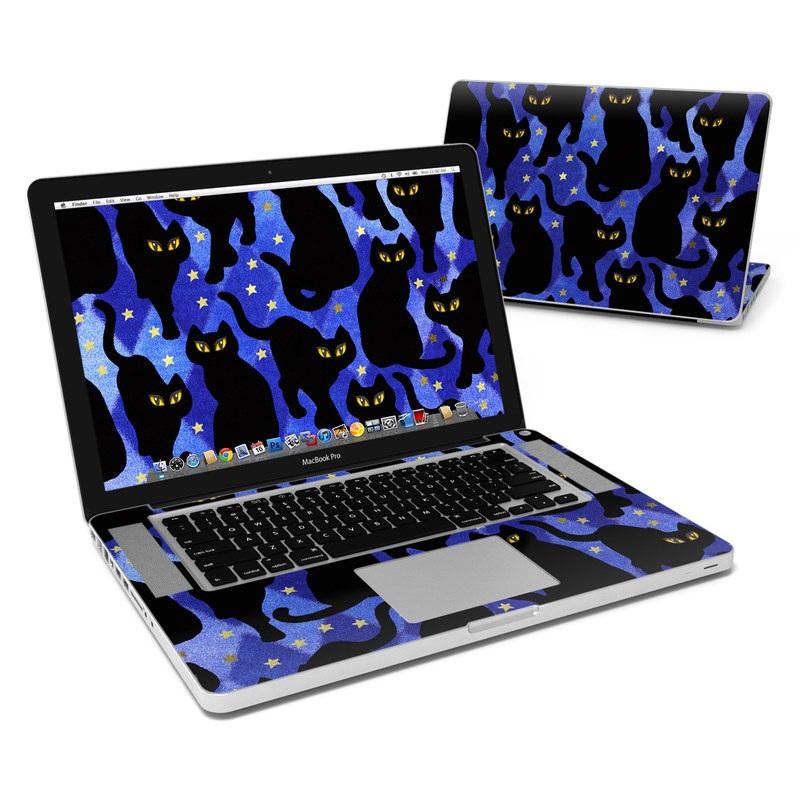 Cat Silhouettes MacBook Pro 15-inch Skin