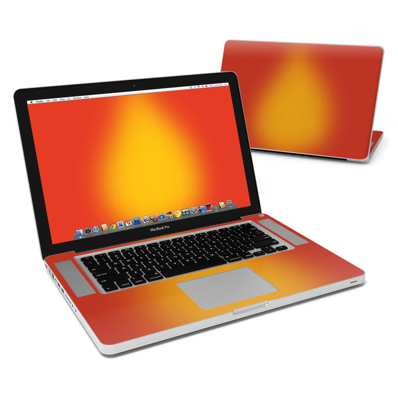 Cherry Sunburst MacBook Pro 15-inch Skin