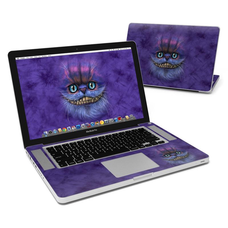Cheshire Grin MacBook Pro 15-inch Skin