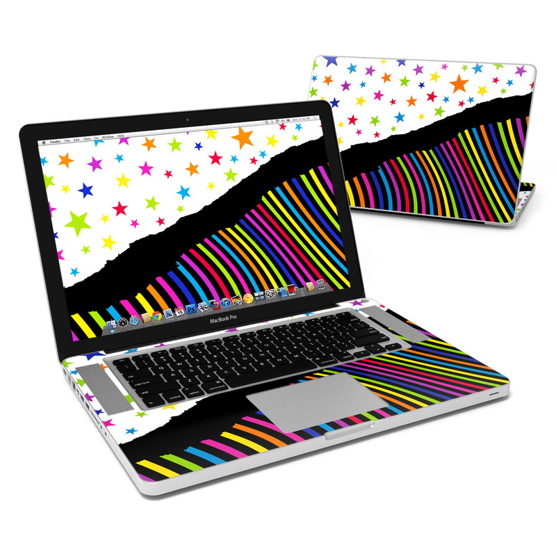 Color Wave MacBook Pro Pre 2012 15-inch Skin