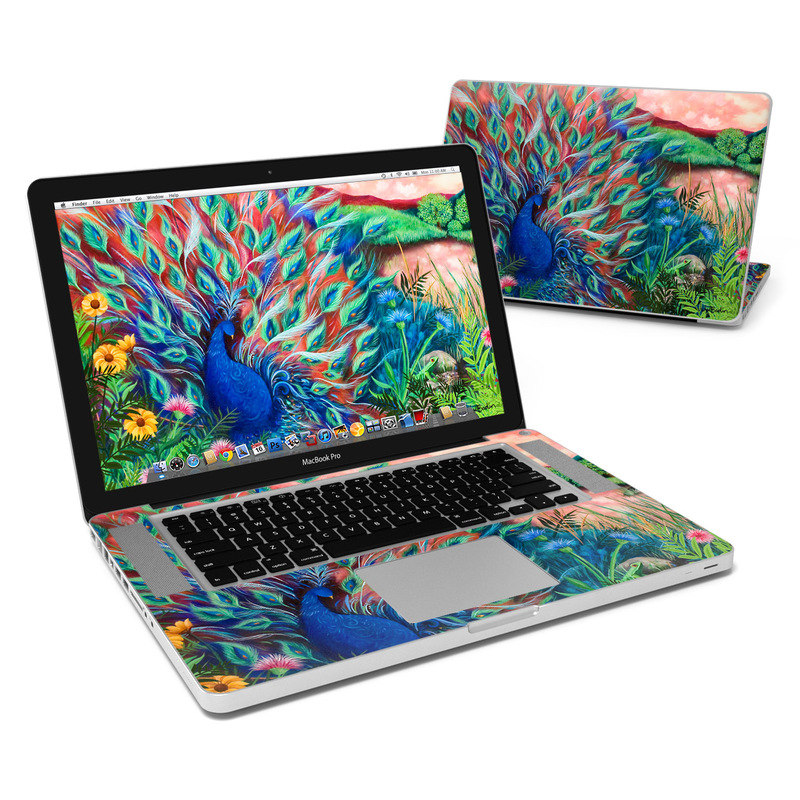 Coral Peacock MacBook Pro 15-inch Skin
