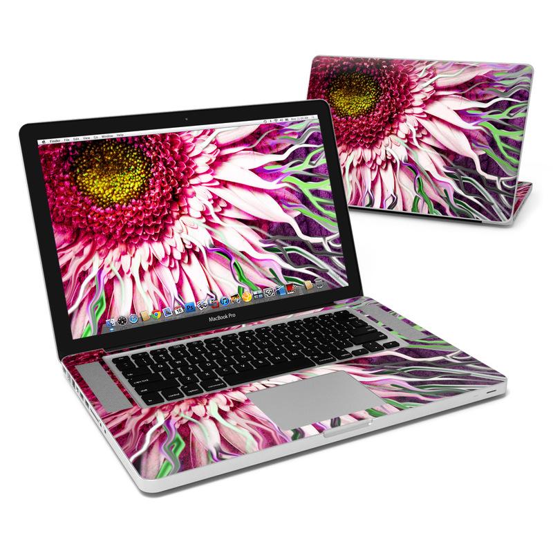 Crazy Daisy MacBook Pro 15-inch Skin