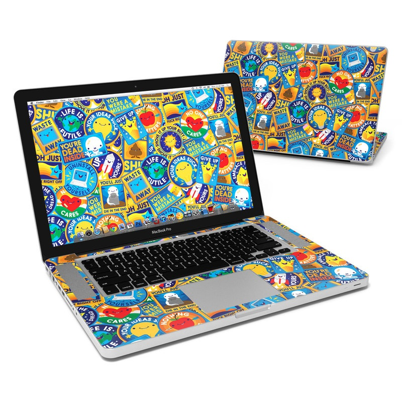 MacBook Pro Pre 2012 15-inch Skin design of Pattern, Visual arts, Design, Art, Mosaic, Psychedelic art with blue, yellow, orange, white, green, red, gray colors