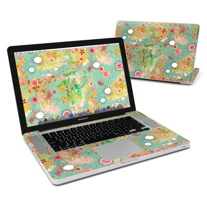 Feathers Flowers Showers MacBook Pro 15-inch Skin