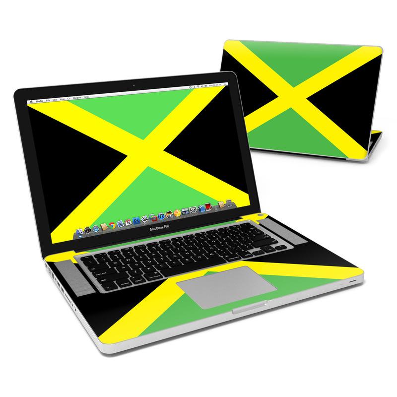 Jamaican Flag MacBook Pro 15-inch Skin