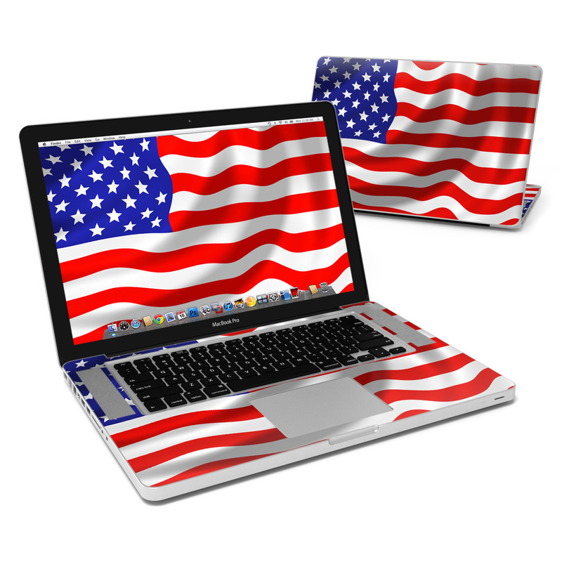 USA Flag MacBook Pro Pre 2012 15-inch Skin