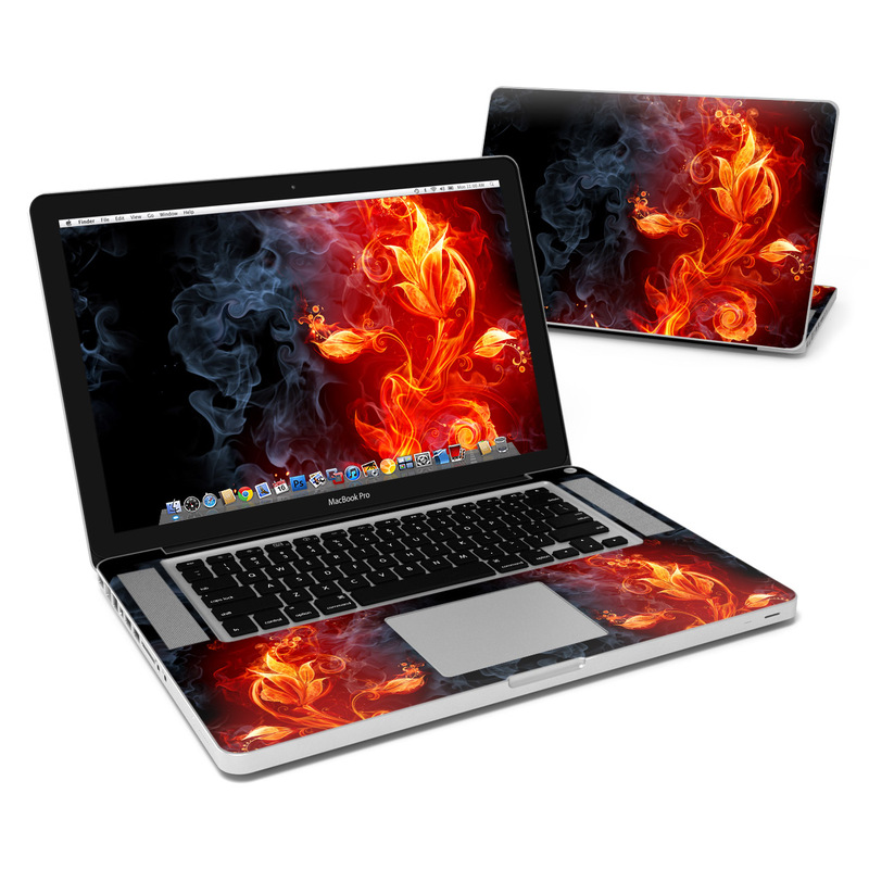 Flower Of Fire MacBook Pro 15-inch Skin