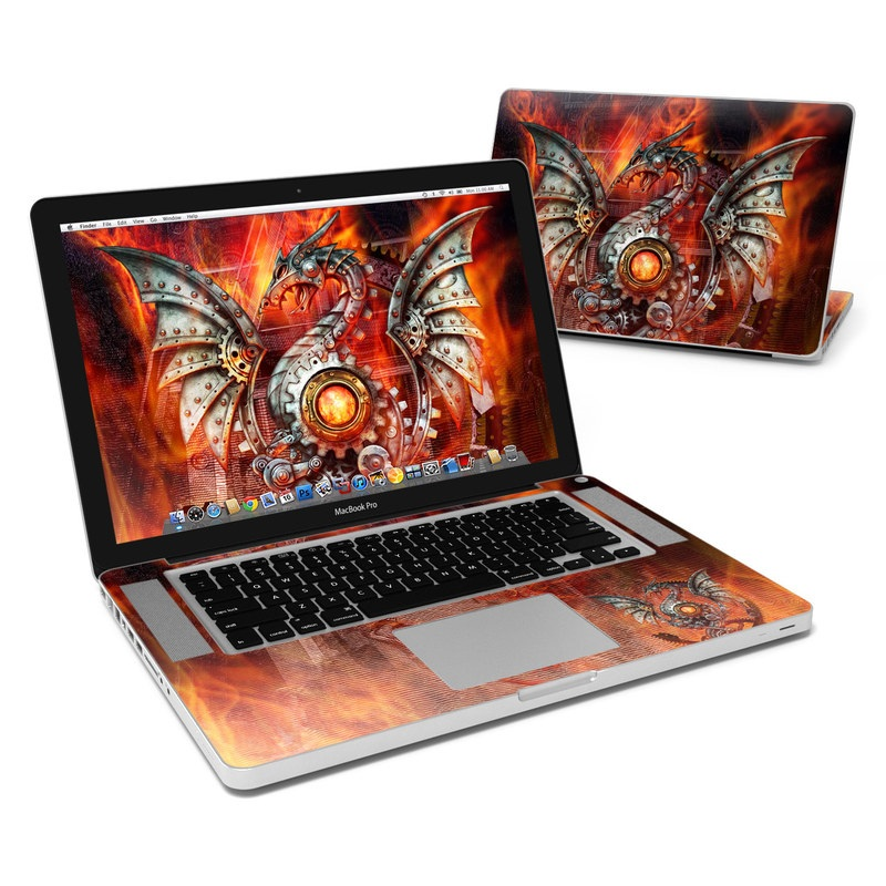 Furnace Dragon MacBook Pro 15-inch Skin