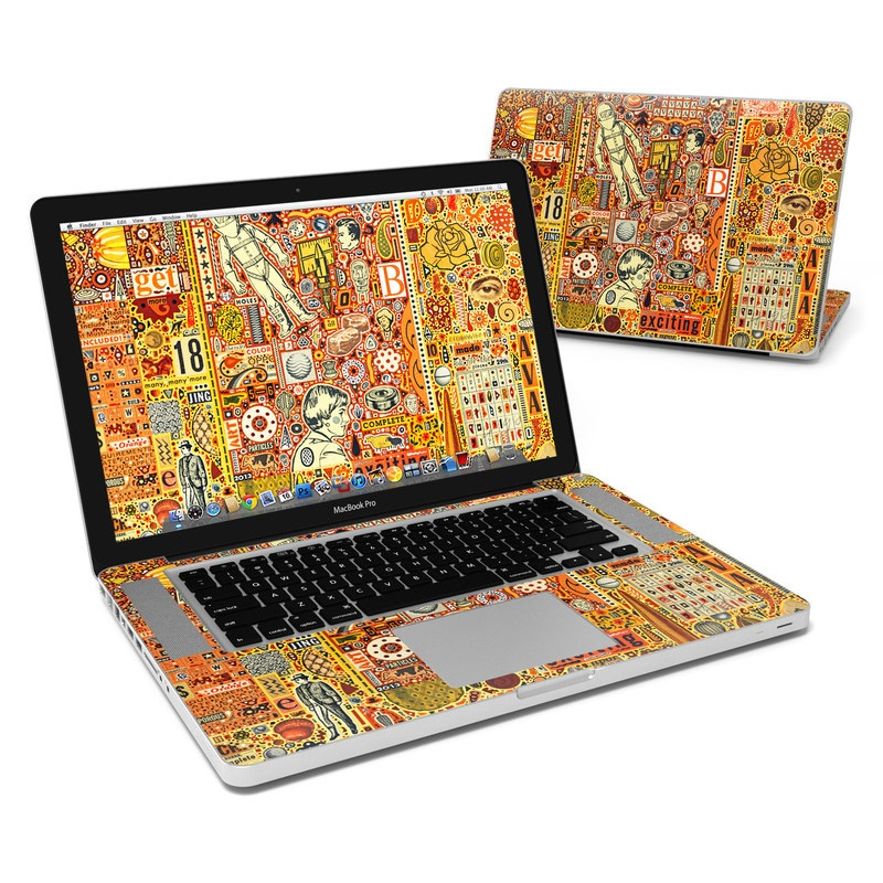 The Golding Time MacBook Pro 15-inch Skin