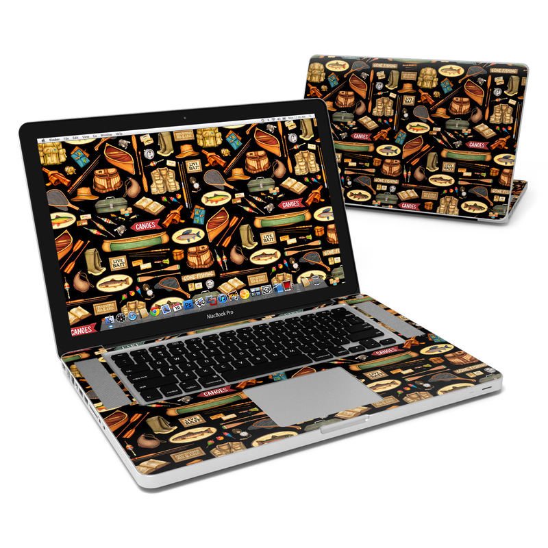 Gone Fishing MacBook Pro 15-inch Skin