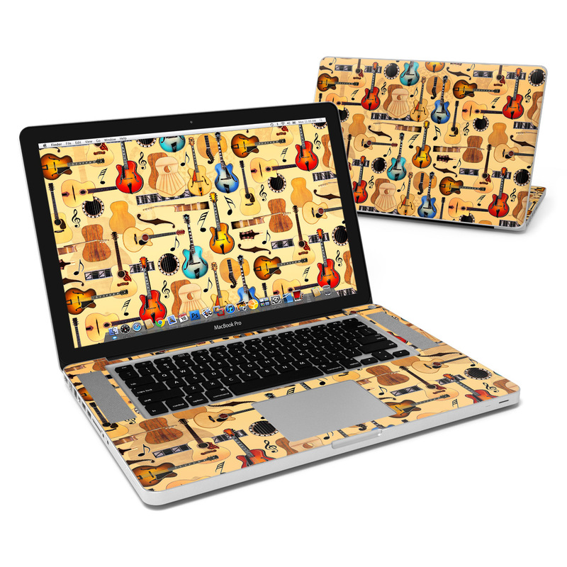 Guitar Collage MacBook Pro 15-inch Skin