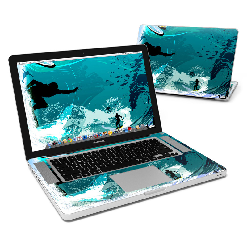 Hit The Waves MacBook Pro 15-inch Skin