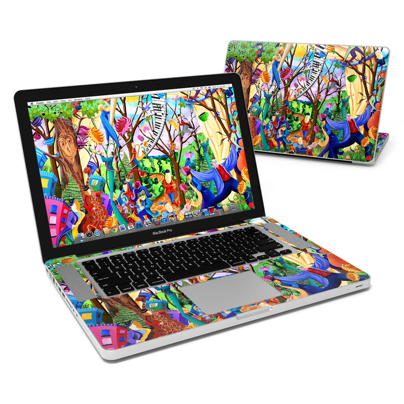 Happy Town Celebration MacBook Pro 15-inch Skin