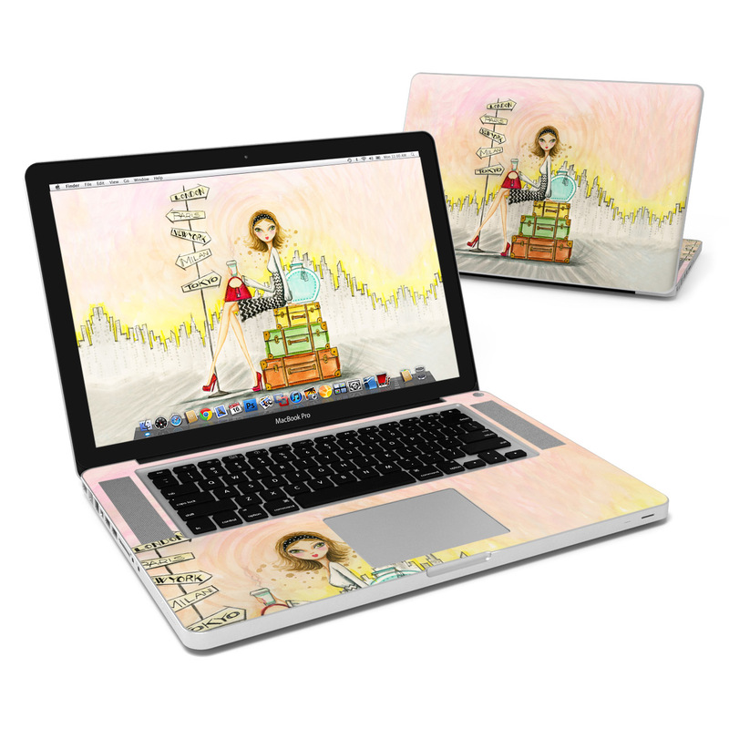 The Jet Setter MacBook Pro 15-inch Skin