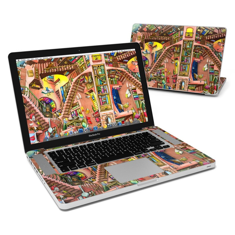 Library Magic MacBook Pro 15-inch Skin