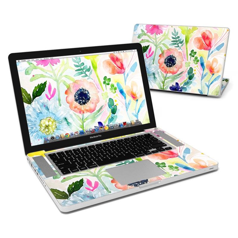 Loose Flowers MacBook Pro Pre 2012 15-inch Skin