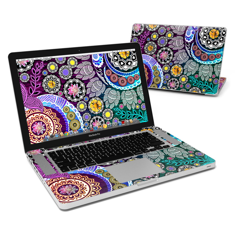 Mehndi Garden MacBook Pro 15-inch Skin