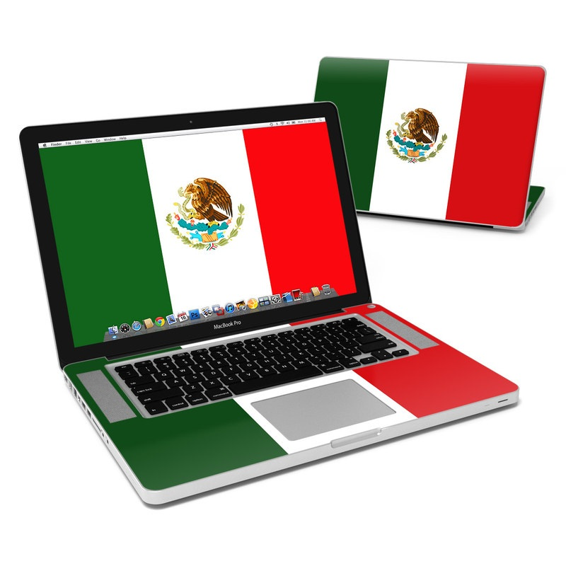 Mexican Flag MacBook Pro 15-inch Skin