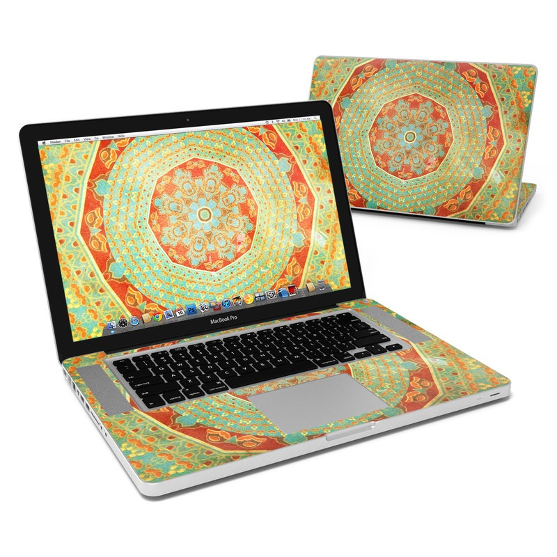 Mandala Citrus MacBook Pro 15-inch Skin