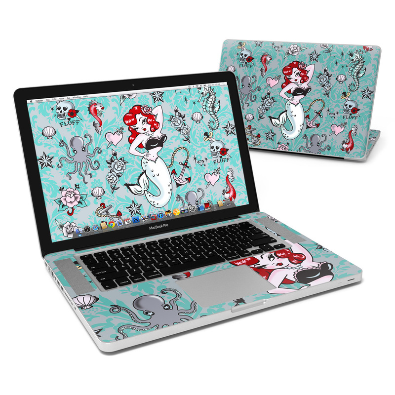 Molly Mermaid MacBook Pro 15-inch Skin